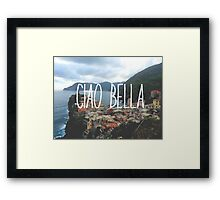 Ciao Bella and Ciao Cinque Terre Framed Print