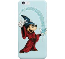 Sorcerer Mickey - Stardust iPhone Case/Skin