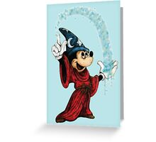 Sorcerer Mickey - Stardust Greeting Card