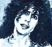 Marc Bolan. Acoustic Warrior by ArtspaceTF