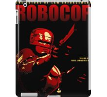 Robocop | alternative poster iPad Case/Skin