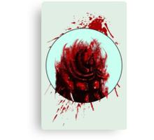 Blood Mist Warrior Canvas Print