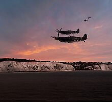 Coastal Spitfires by J Biggadike