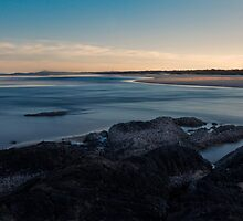 Sawtell at Dusk by Trudi Skinn