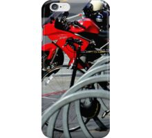 On And Off The Rack iPhone Case/Skin