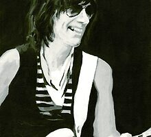 Jeff Beck. Emotion & Commotions by ArtspaceTF