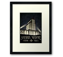 """Fallout - Sierra Madre """"Starry Night"""" Framed Print"""
