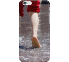 feet in the water iPhone Case/Skin