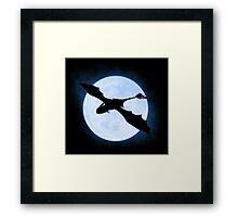Full Moon Dragon Framed Print