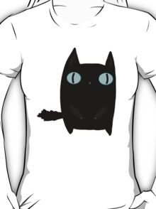 Fat Black Cat T-Shirt