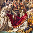 Crowning of the Empress Josephine by Elaine Teague