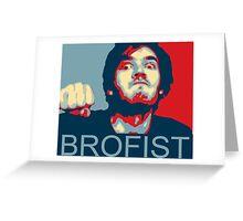 Pewdiepie Brofist Greeting Card