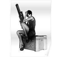 Assassin Girl Poster