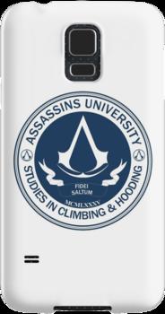 Assassins University - Climbing & Hooding by Chronotaku