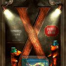 Steampunk - Alphabet - X is for Xenobiology by Mike  Savad