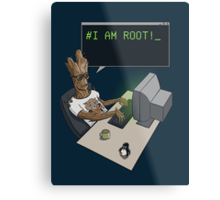 I am Root! Metal Print