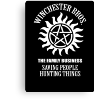 Winchester Bros. Canvas Print