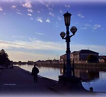 Evening at the Quay by Charmiene Maxwell-batten
