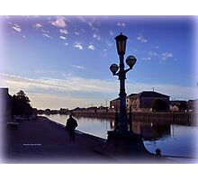 Evening at the Quay Photographic Print