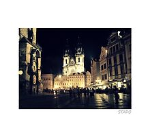 Old Town Square of Prague by stado