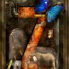 Steampunk - Alphabet - Z is for Zoology by Mike  Savad