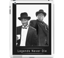 Legends never die TupacBiggie iPad Case/Skin