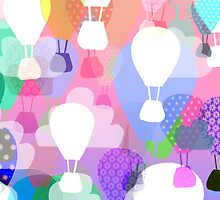 Hot air balloons by ingridcastile