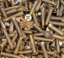 screws as  background by spetenfia