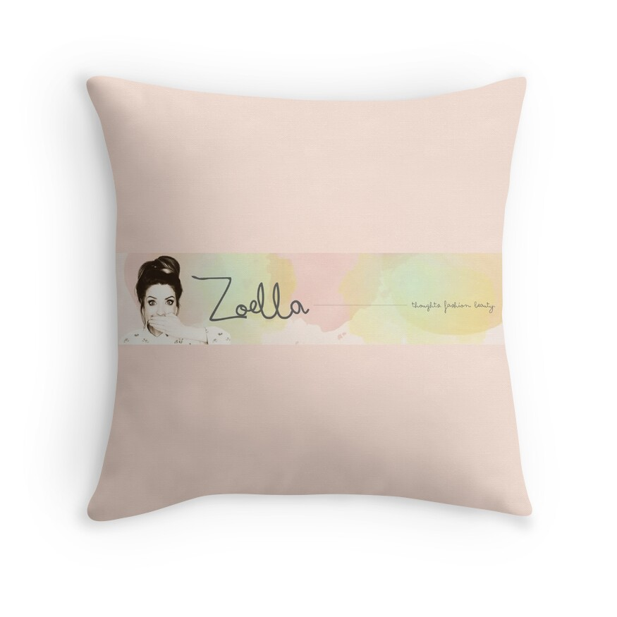 Zoella Throw Pillows : Pin Finn Harries Graphic Design Image Search Results on Pinterest