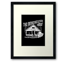 The Winchester Road House Framed Print