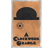 A Clockwork Orange Poster Photographic Print