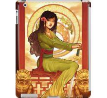 Warrior Part II iPad Case/Skin