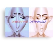 Dimorphic Dynamism Canvas Print