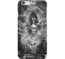 Watch Out For The Ghouls During Halloween iPhone Case/Skin