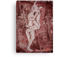 Minotaur and Ariadne Canvas Print