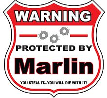 Marlin Protected by Marlin Shield by gungifts