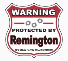 Remington Protected by Remington by gungifts