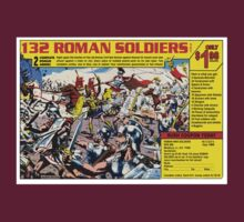 Roman Soldiers Comic Book Ad by kayve