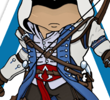 Connor Kenway Chibi: Assassin's Creed 3 Sticker