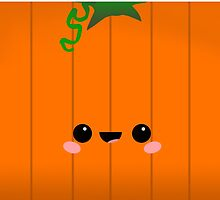 Poomi the Kawaii Pumpkin by raddude