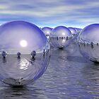 Spheres On The Water by perkinsdesigns
