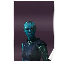 Nebula from Guardians of the Galaxy Poster
