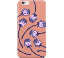 Rose - Peach/Willow iPhone Case/Skin