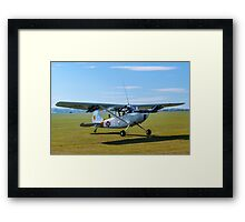 Cessna O-1E Bird Dog 24550/ GP G-PDOG Framed Print