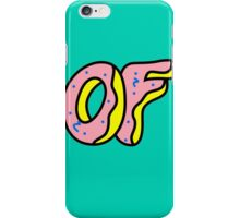 OFWGKTA Doughnut iPhone Case/Skin