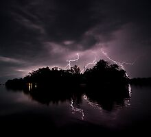 Lightning Storm by amandaayre