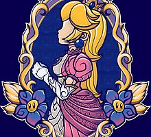 Stained-Glass Peach by cArxangel