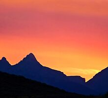 Ghost Riders in the Sky - Teton Sunset by Kenneth Keifer