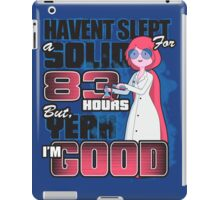 Sleepless in the Candy Kingdom iPad Case/Skin
