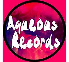 Aqueous Records Logo Photographic Print